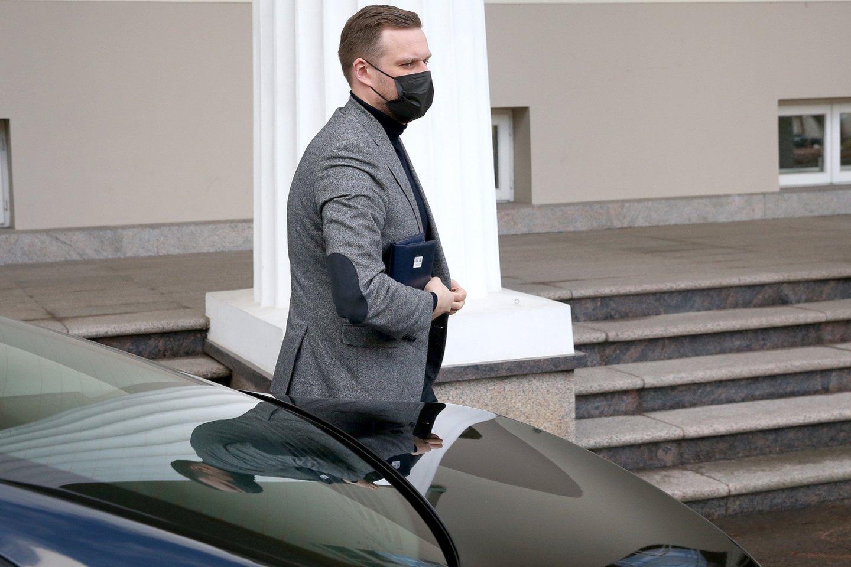 Aktyviai Rusiją kritikavęs G.Landsbergis sulaukė ir viešo Rusijos ambasados pašiepimo.<br>R.Danisevičiaus nuotr.