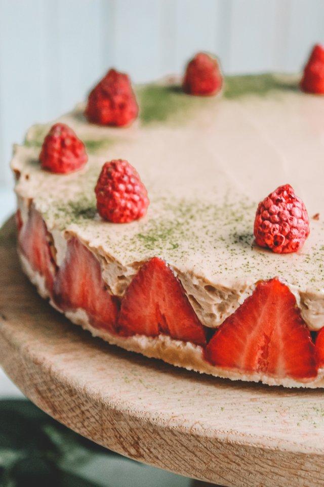 Karamelinis penkių ingredientų tortas.<br>Nuotr. iš asmeninio albumo