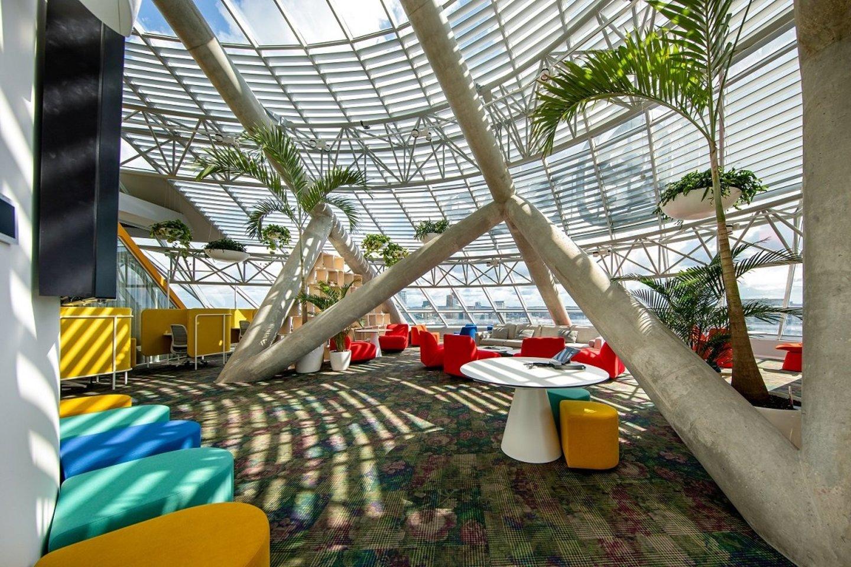 """Interjero autoriai – Šveicarijos kompanija """"Evolution Design"""" ir lietuviai, architektūros studija """"Heima"""".<br>E.Lasio nuotr."""