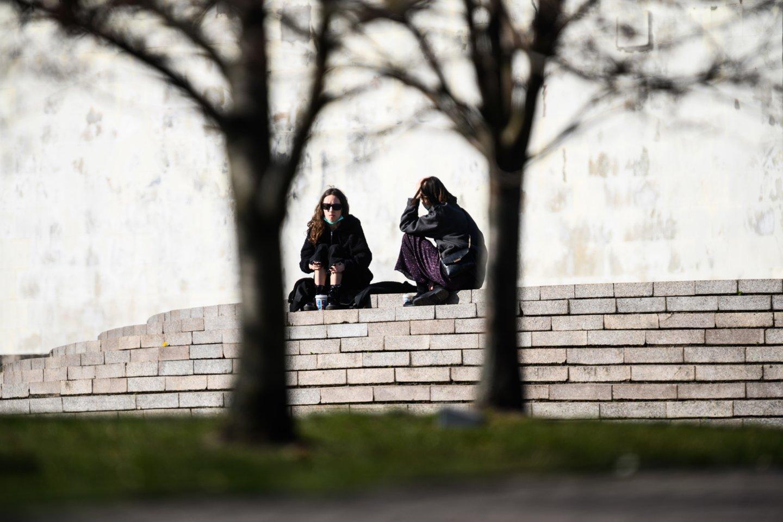 Pandemija neigiamai paveikė studijuojančių jaunuolių savijautą.<br>V.Skaraičio nuotr.
