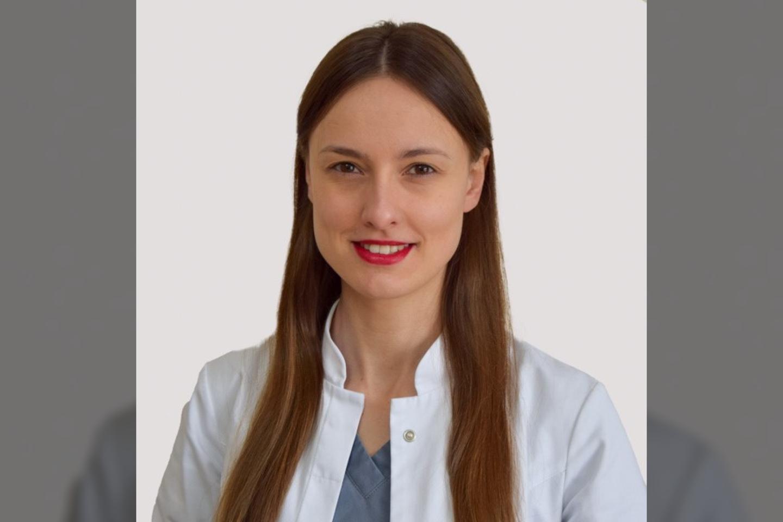 Oftalmologė Dovilė Šimkienė.<br>Pranešimo spaudai nuotr.