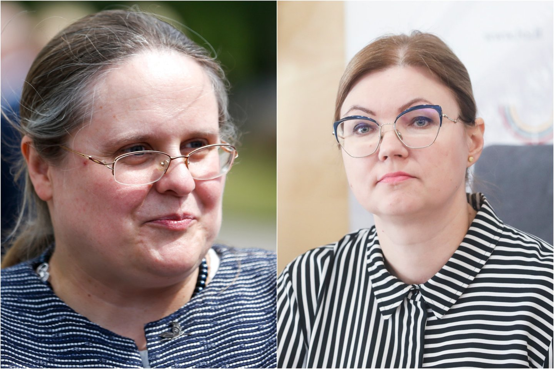 Agnė Širinskienė irAušrinė Norkienė.<br>Lrytas.lt koliažas
