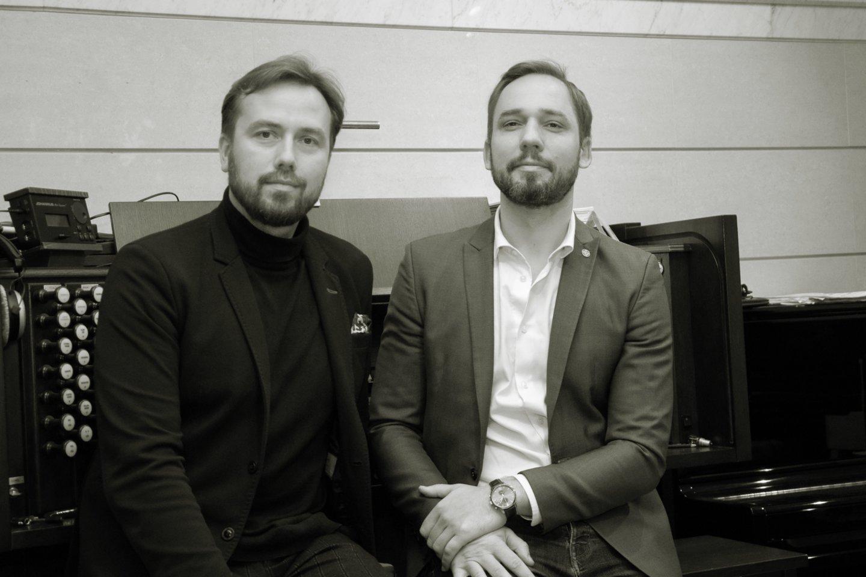Darius Mažintas ir Jonas Sakalauskas.<br>Pranešimo nuotr.