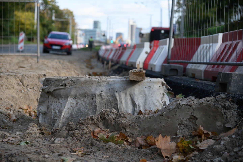 """Vilniaus """"Grinda"""" ėmėsi paviršinių nuotekų tinklo rekonstrukcijos metu suplanuotų 3 atskirų valymo įrenginių statybos darbų.<br>V.Skaraičio nuotr."""