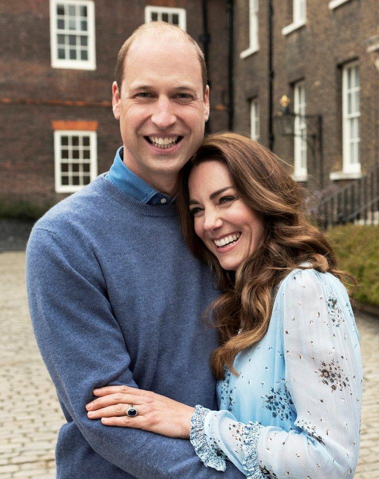 Princas Williamas ir Catherine Middleton.<br>Reuters/Scanpix nuotr.