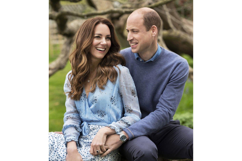 Princas Williamas ir Catherine Middleton.<br>AP/Scanpix nuotr.