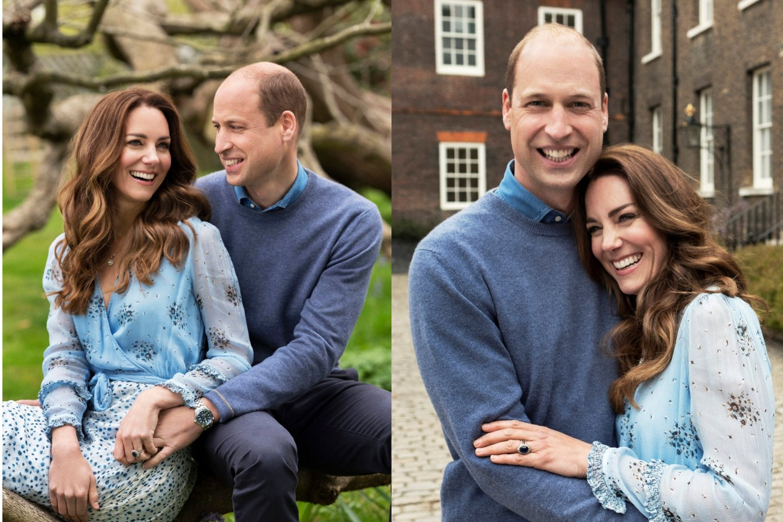 Princas Williamas ir Catherine Middleton.<br>lrytas.lt montažas.