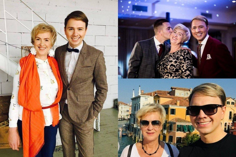 Augindama sūnus Stefa Žmuidinavičienė suprato, kad kiekviena diena yra nauja gyvenimiška pamoka, kuri reikalauja kantrybės, nuoširdumo ir atidumo.<br>Asmeninio albumo nuotr.