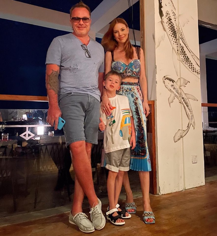 Natalijos Podolskajos ir Vladimiro Presniakovo atostogų akimirka.<br>Socialinių tinklų nuotr.