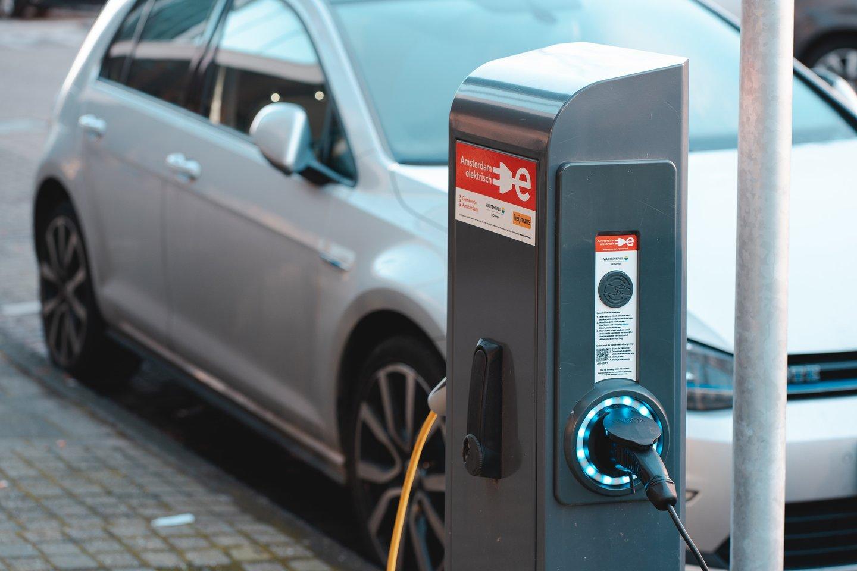 Kartais elektromobilių vairuotojai sulaukia ir agresyvių ženklų kelyje.<br>www.unsplash.com nuotr.