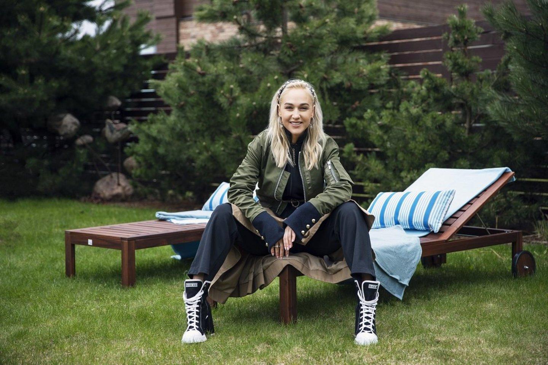 """Terasos atnaujinimą I. Stonkuvienė patikėjo """"Ikea"""" interjero dizaineriams."""