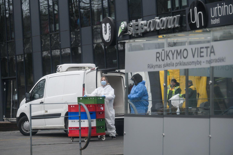 Koronavirusas Lietuvoje<br>V.Skaraičio nuotr.