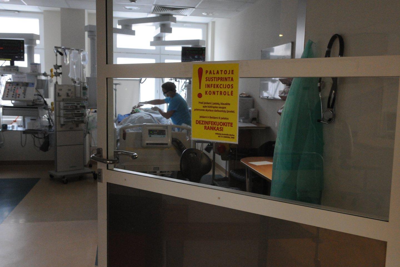 Koronavirusas Lietuvoje<br>VU Santaros klinikų nuotr.