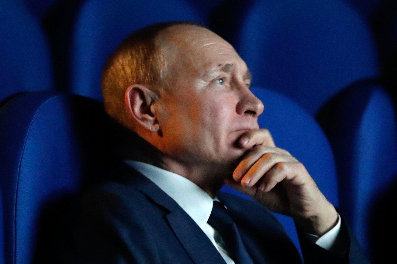Rusijos prezidentas Vladimiras Putinas.<br>TASS/Scanpix nuotr.