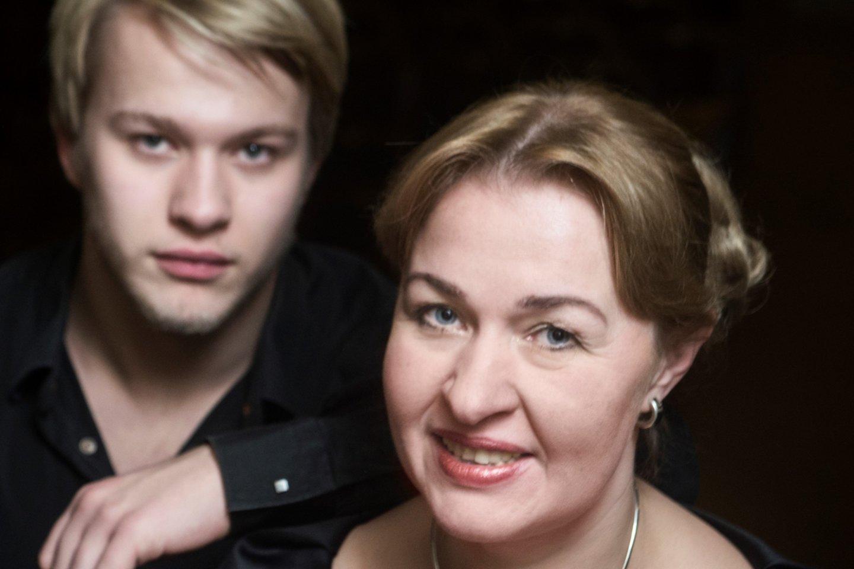 A.Žvirblytė ir P.Anderssonas.<br>D.Matvejevo nuotr.