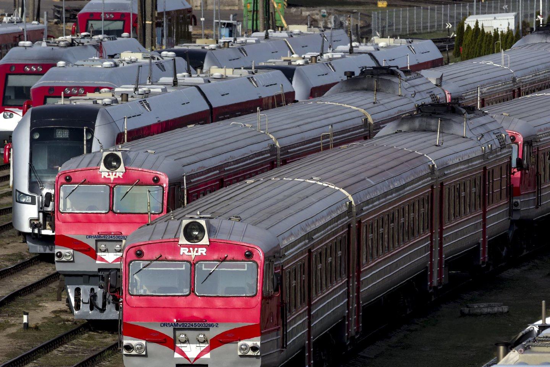 """""""Rail Baltica"""" yra plyno lauko geležinkelio transporto infrastruktūros projektas, kurio tikslas – integruoti Baltijos šalis į Europos geležinkelių tinklą.<br>V.Ščiavinsko nuotr."""