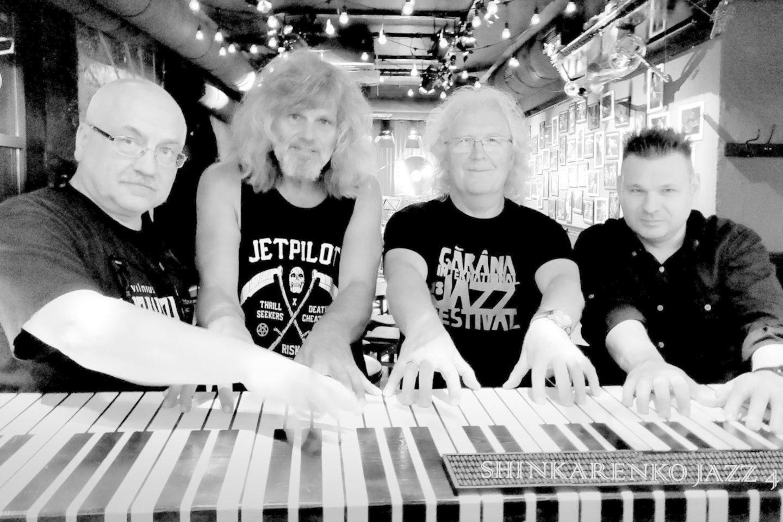 """19-ajame """"Vilnius Mama Jazz"""" pasirodys L.Šinkarenkos""""Jazz 4 N"""".<br>Organizatorių nuotr."""