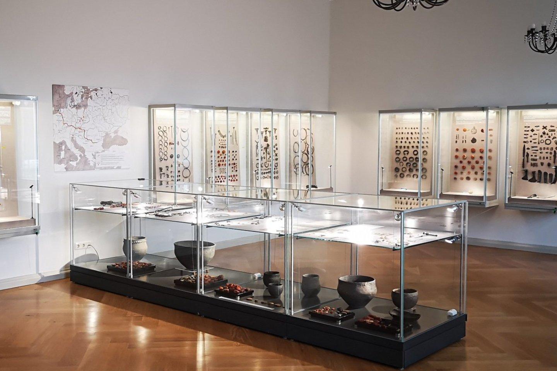 Palangos gintaro muziejaus ekspozicijos fragmentai.<br>S.Bagužaitės-Talačkienės nuotr.