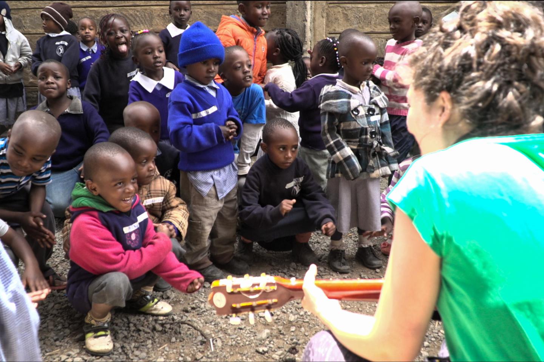 B.Moreno albumą įkvėpė savanoriavimas Kenijoje.<br>Asmeninio albumo nuotr.