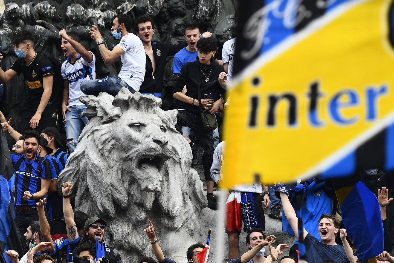 Milane - šventė.<br>Reuters/Scanpix nuotr.