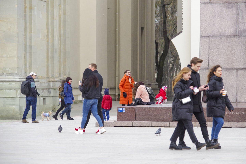 Pavasaris Vilniuje.<br>V.Ščiavinsko nuotr.