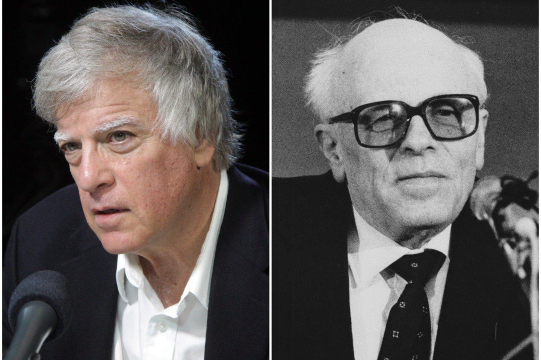 D. Satteris (kairėje) ir A. Sacharovas (dešinėje).