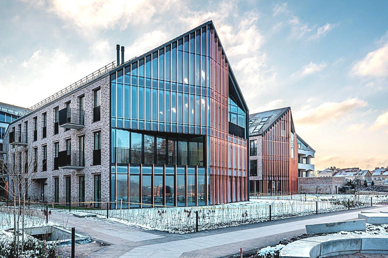 Pastaruoju metu Vilniuje daugėja nekilnojamojo turto objektų, kurių vertė viršija milijoną eurų.<br>V.Skaraičio nuotr.