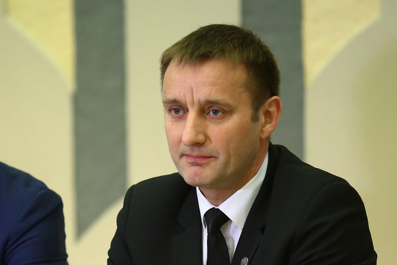 Šiaulių meras Artūras Visockas<br>G.Šiupario nuotr.