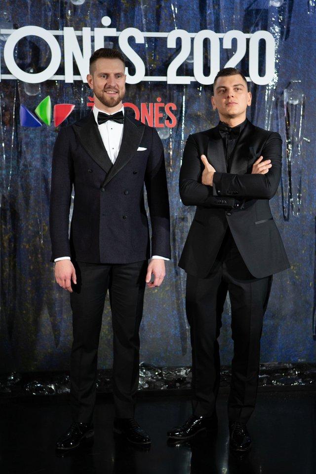 Mantas Stonkus ir Rolandas Mackevičius.<br>R.Danisevičiaus nuotr.