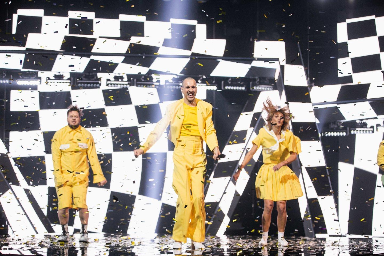 """Grupės """"The Roop"""" pasirodymas.<br>E.Blaževič/LRT nuotr."""