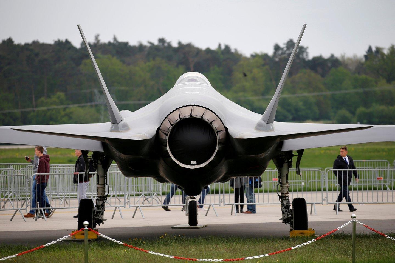Naikintuvas F-35.<br>Reuters/Scanpix nuotr.