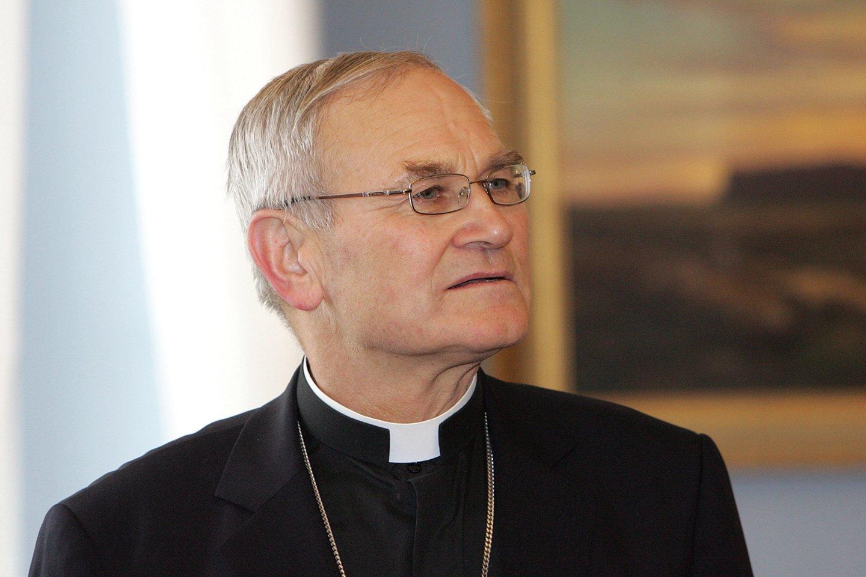 Panevėžio vyskupas Jonas Kauneckas.<br>P.Lileikio nuotr.