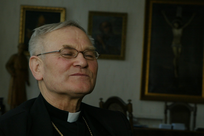 Panevėžio vyskupas Jonas Kauneckas.<br>T.Stasevičiaus nuotr.
