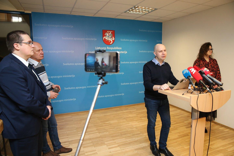 Skirmantas Malinauskas, Algirdas Šešelgis, Aurelijus Veryga, Lina Bušinskaitė.<br>R.Danisevičiaus nuotr.