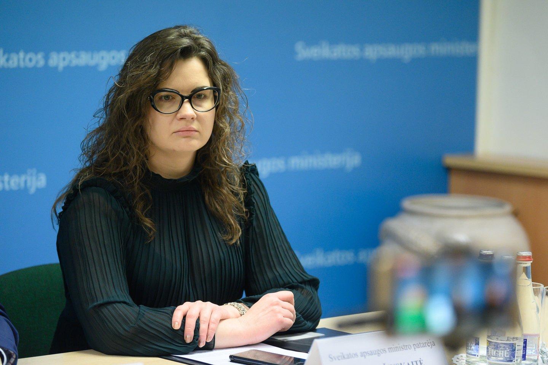 Lina Bušinskaitė.<br>V.Skaraičio nuotr.