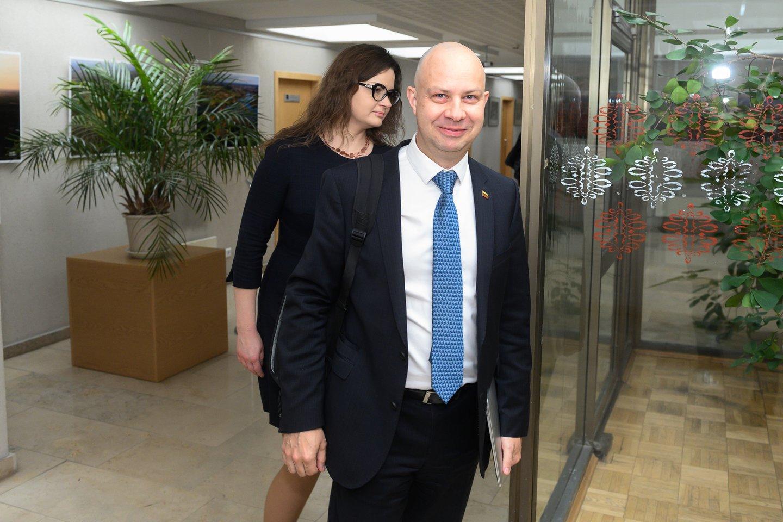 Lina Bušinskaitė, Aurelijus Veryga<br>V.Skaraičio nuotr.