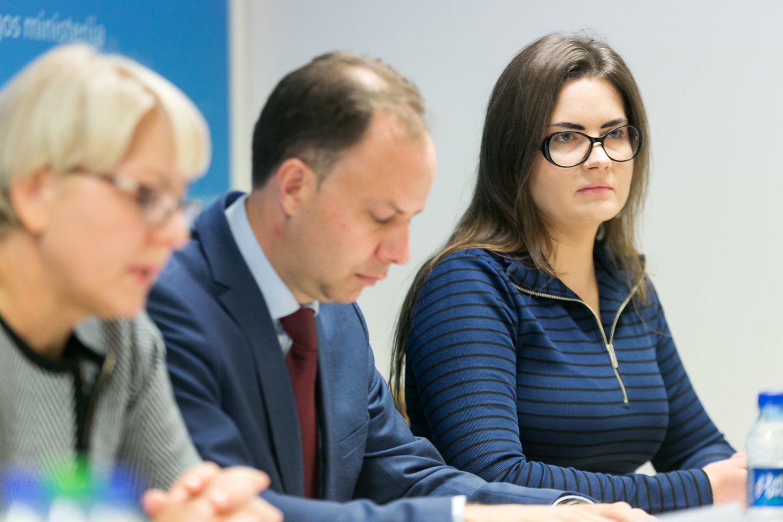 Asta Kubilienė, Aurelijus Veryga ir Lina Bušinskaitė.<br>T.Bauro nuotr.