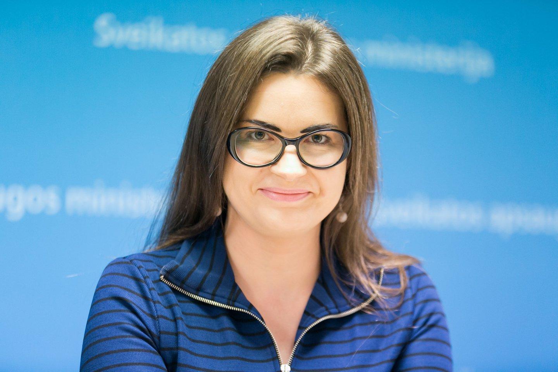 Sveikatos apsaugos ministro patarėja Lina Bušinskaitė.<br>T.Bauro nuotr.