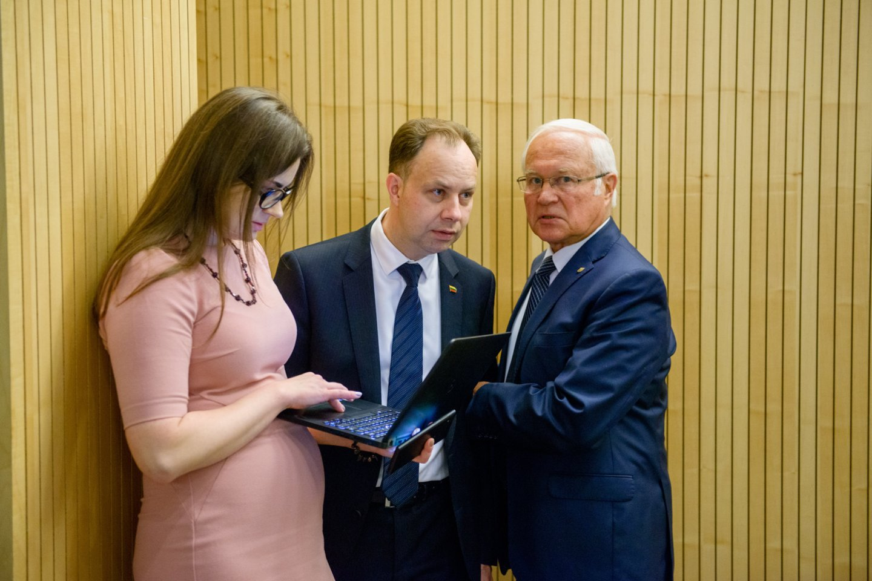 Aurelijus Veryga, Lina Bušinskaitė<br>J.Stacevičiaus nuotr.