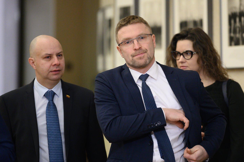 Aurelijus Veryga, Linas Kukuraitis, Lina Bušinskaitė<br>V.Skaraičio nuotr.