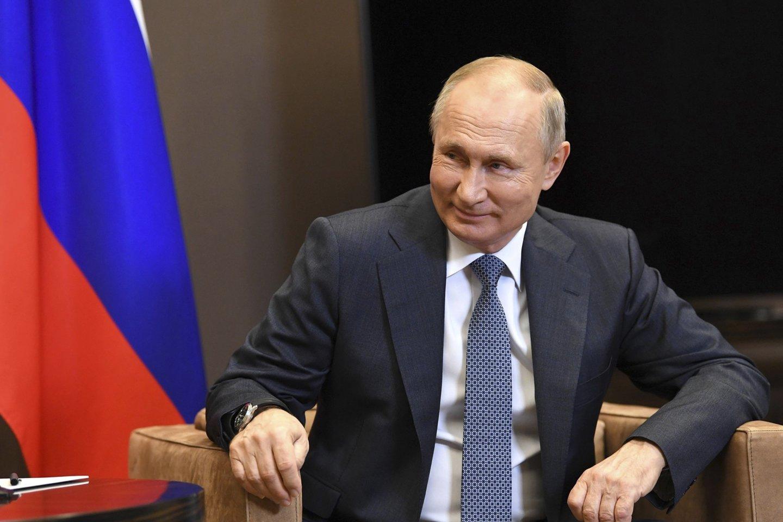 Rusijos prezidentas Vladimiras Putinas.<br>ZUMAPRESS/Scanpix nuotr.