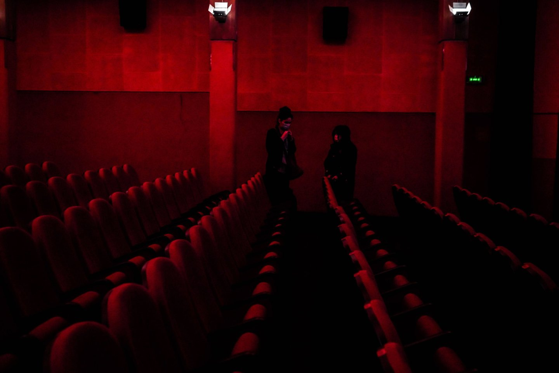 Kino teatro darbuotojos frazė išmušė iš vėžių.<br>Nicola Marfisi/AGF/SIPA/Scanpix asociatyvi nuotr.
