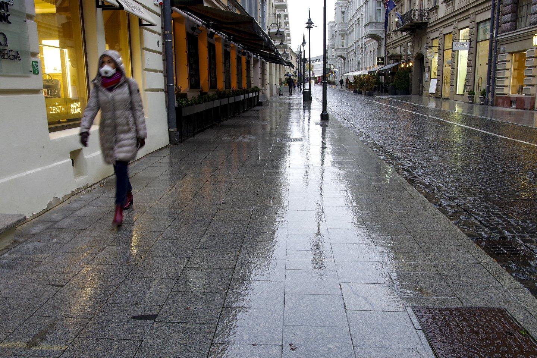 Sinoptikai praneša, kad dar teks pagyventi su lietumi.<br>V.Ščiavinsko nuotr.