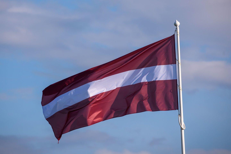 Latvija antradienį mini mini nepriklausomybės atkūrimo 31-ąsias metines.<br>AFP/Scanpix nuotr.