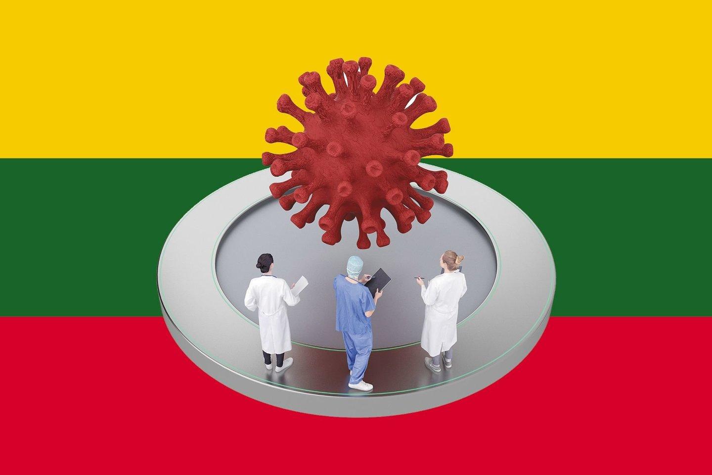 Moksliniams tyrimams, padėsiantiems spręsti COVID-19 pandemijos sukurtus iššūkius sveikatos bei švietimo ir ugdymo srityse, skiriama beveik 3 mln. eurų Europos Sąjungos 2021–2027 m. laikotarpio lėšų.<br>123rf iliustr., lrytas.lt mont.