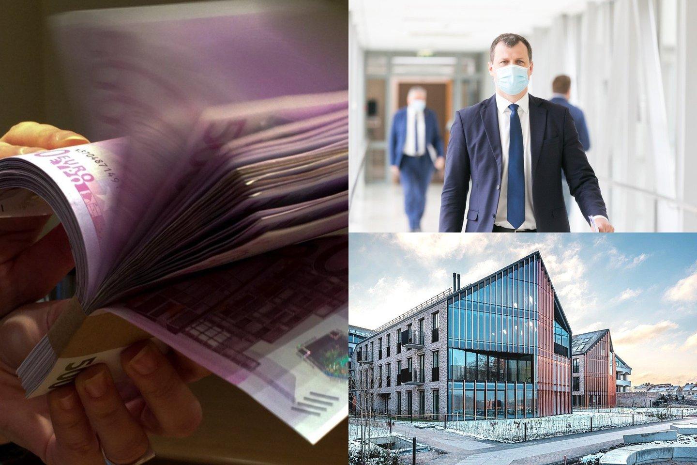 Pastaruoju metu Vilniuje daugėja nekilnojamojo turto objektų, kurių vertė viršija milijoną eurų.<br>Lrytas.lt fotomontažas