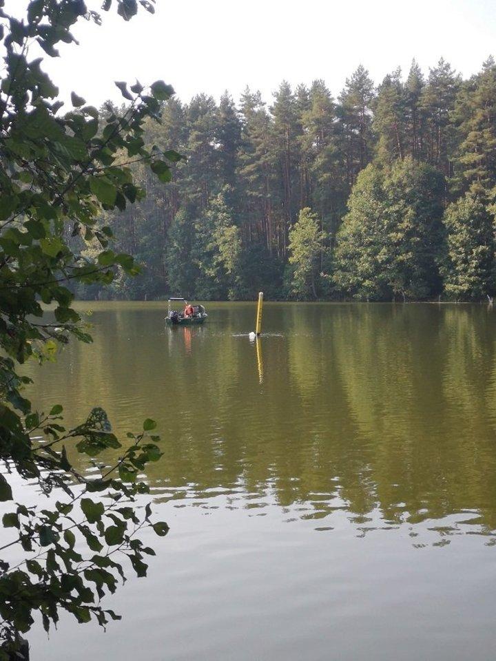 Pasienyje žvejojančius asmenis VSAT ragina būti atidžius ir laikytis taisyklių.<br>VSAT nuotr.