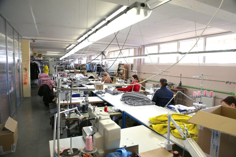 Tekstilės sektoriaus atsigavimo ženklų dar nematyti.<br>R.Vitkaus nuotr.