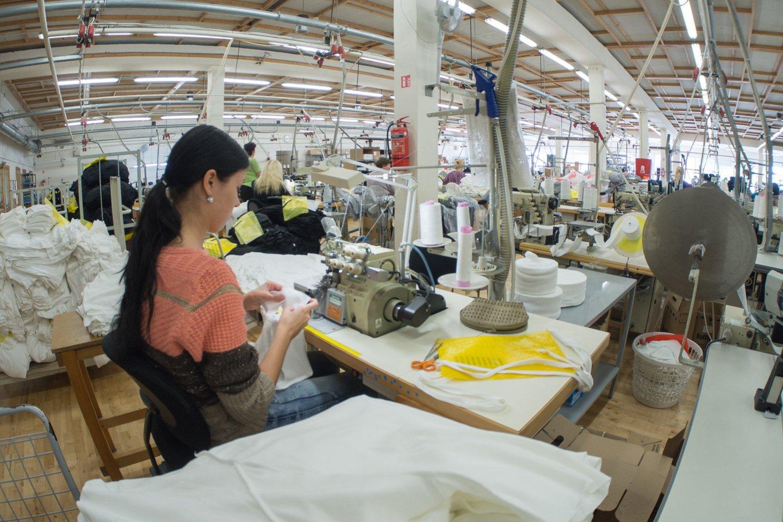 Tekstilės sektoriaus atsigavimo ženklų dar nematyti.<br>V.Ščiavinsko nuotr.