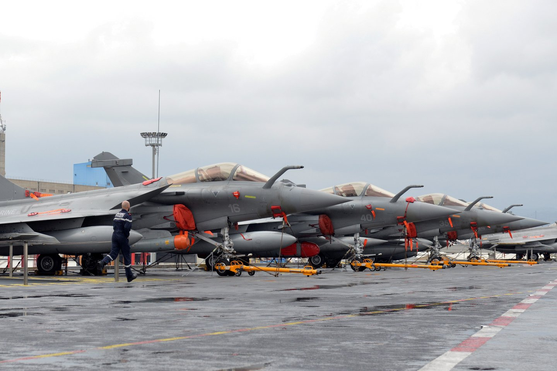 """Egipto kariuomenė patvirtino užsakiusi 30 naikintuvų """"Rafale"""" iš Prancūzijos gynybos sektoriaus milžinės """"Dassault Aviation"""".<br>Reuters/Scanpix nuotr."""